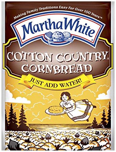 Cornbread Dressing Mix (Martha White Cotton Country Buttermilk Cornbread Mix, 6-Ounce (Pack of 12))
