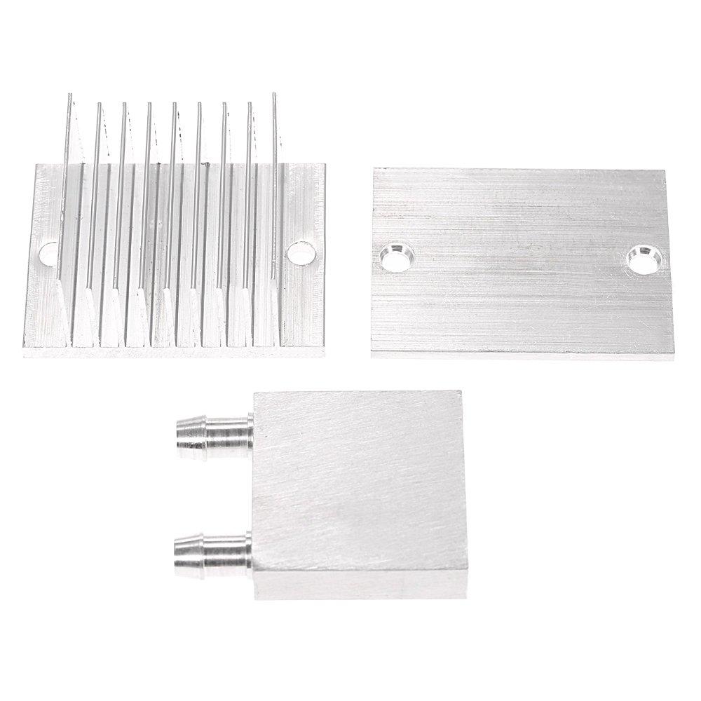 Fan KKmoon DIY Kit Thermoelectric Peltier Cooler Refrigeration Cooling System Heat Sink Conduction Module TEC1-12706