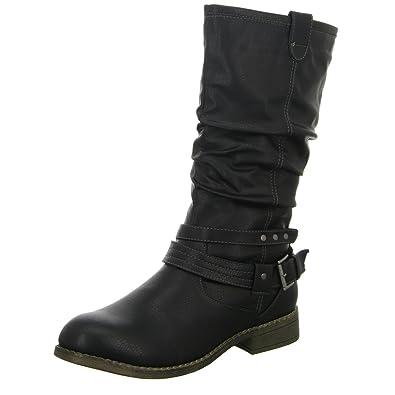 Stiefel, Warmfutter, Reißverschluss, Blockabsatz