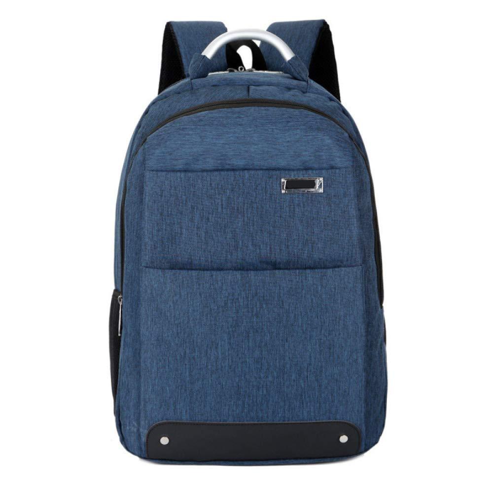 Darkbluee 16Inches DHFUD Backpack Men's Antitheft Largecapacity Business Computer Bag