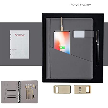 JIEIIFAFH Práctico Cargador inalámbrico U Disk Gift Box ...