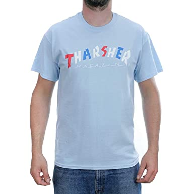 21f82ea098bc Image Unavailable. Image not available for. Colour: Thrasher Magazine Knock  Off T-Shirt ...