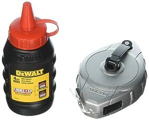 Dewalt DWHT47255L Aluminum Reel with Red Chalk