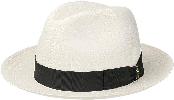 Borsalino feiner Bogart Panamahut aus Stroh
