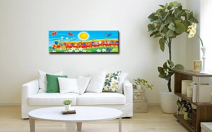 Berger Designs Wandbild Für Das Kinderzimmer Auf Leinwand Als