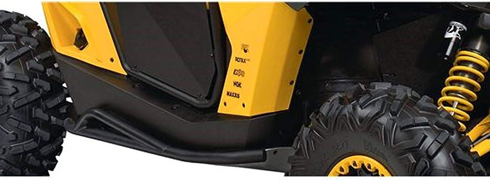 Can-Am New OEM Commander Rock Brush Guard Slider Nerf Bars Kit 715001722