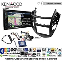 Volunteer Audio Kenwood Excelon DNX694S Double Din Radio Install Kit with GPS Navigation System Android Auto Apple CarPlay Fits 2015-2016 Chevrolet Trax