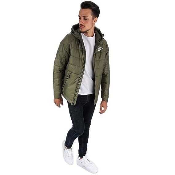 Nike Men's Sportswear Jacket 881786 222 Medium Olive Größe