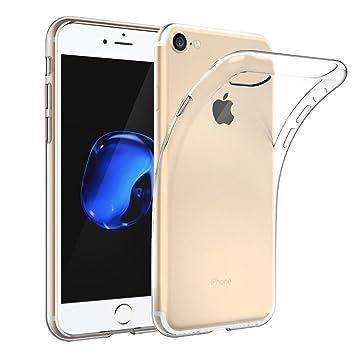 5b9b3b510e iPhone 7 ケース クリア ソフト 薄型 iG Direct 高品質TPU シリコンケース 透明カバー クリア