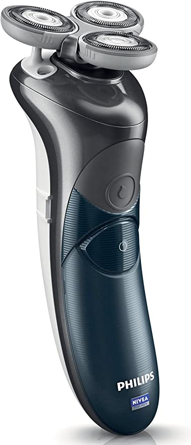 Philips Nivea Hs8460 Coolskin - Afeitadora recargable con soporte ...