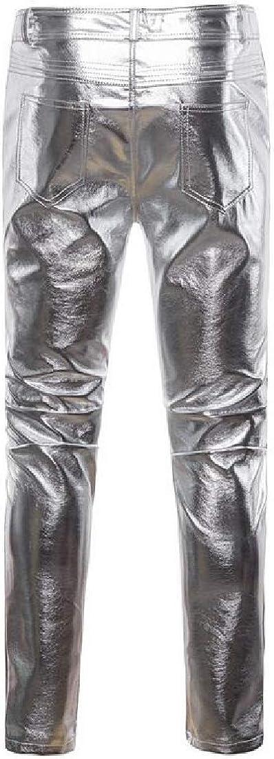 Jofemuho Mens Casual Business Cotton Linen Flat-Front Straight Leg Slim Fit Dress Pants
