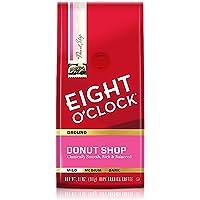 Eight O'Clock Coffee Donut Shop, Mild Roast, 100% Arabica Ground Coffee, Kosher Certified, 11 Oz