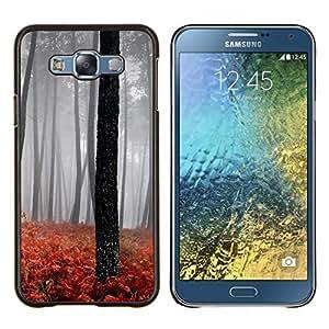 Queen Pattern - FOR Samsung Galaxy E7 E7000 - Sunset Beautiful Nature 110 - Cubierta del caso de impacto con el patr???¡¯???€????€?????n Ar