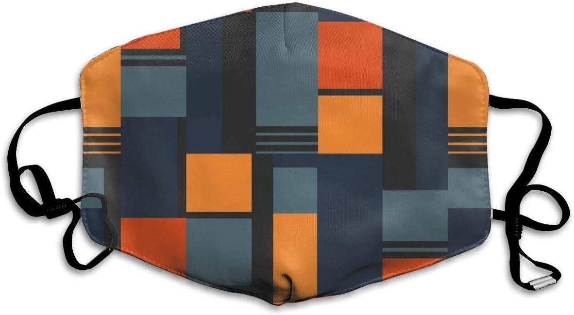 Sanitary Cover,Tapa De Boca Inspirada Bauhaus, Tapas De Nariz Decorativas para Correr En Bicicleta Al Aire Libre,18x11cm