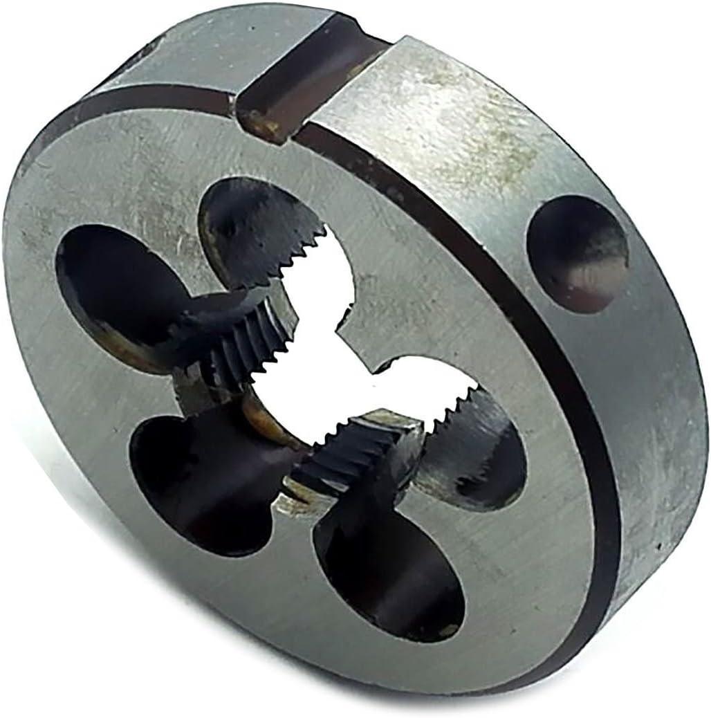 10mm x 1.0 LEFT HAND Round Die 1 Outside Diameter High Speed Steel