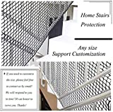 LFSTY Baby Stair Net, Balcony Netting Black Kids