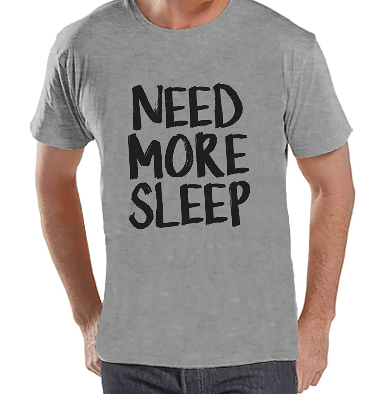 Custom Party Shop Mens Need More Sleep Funny T-Shirt