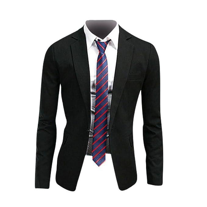 Jeansian Moda Chaqueta Traje Blusas Chaqueta Hombres Mens Fashion Jacket Outerwear Tops Blazer 8998 Black XS