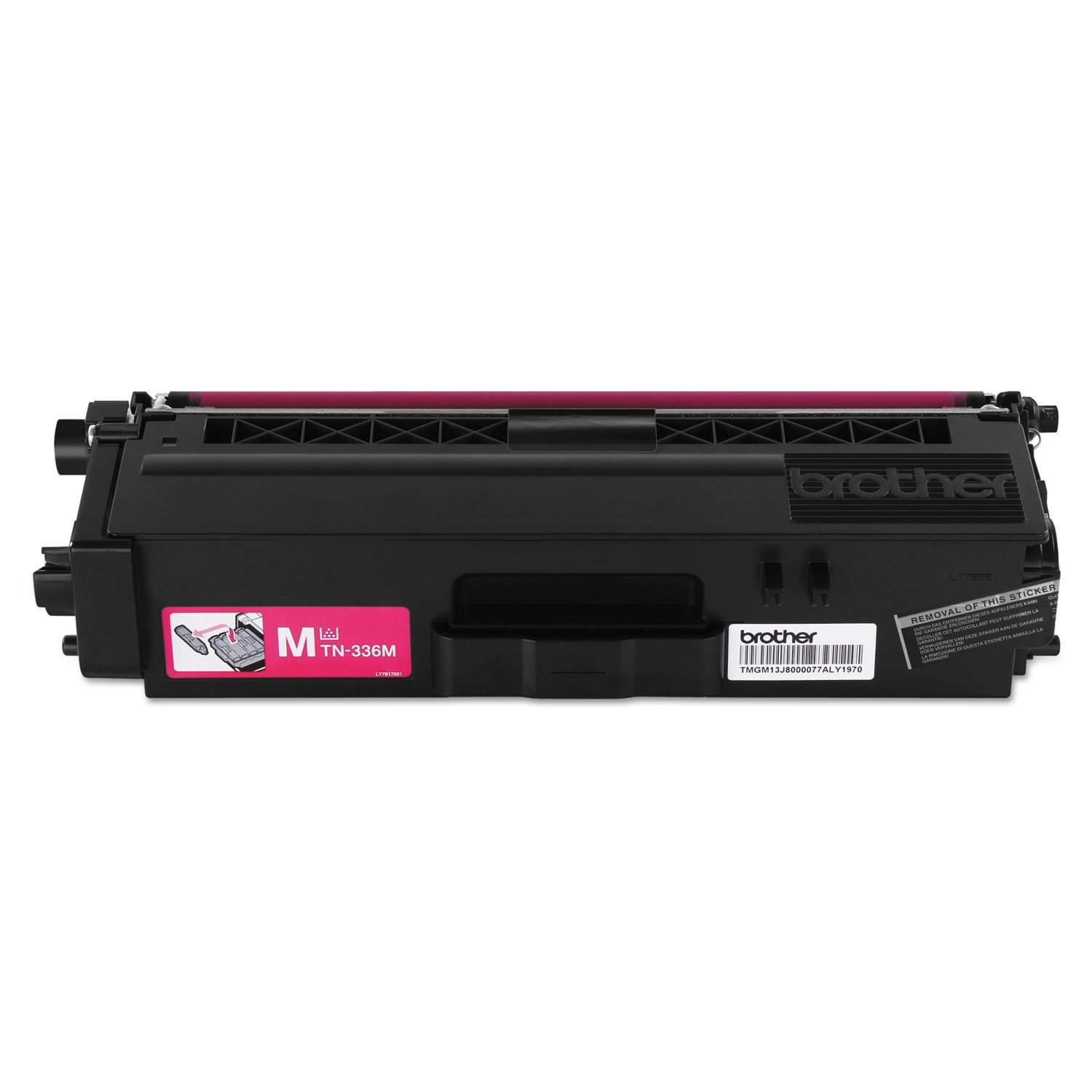 Brother TN336BK, TN336C, TN336M, TN336Y High Yield Black, Cyan, Magenta and Yellow  Toner Cartridge Set by Brother (Image #8)