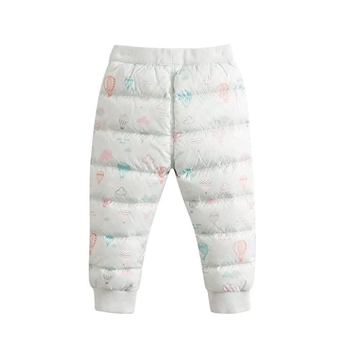 Marc janie Baby Boys Girls Kids' Packable Lightweight Puffer Down Pants:  Amazon.co.uk: Clothing