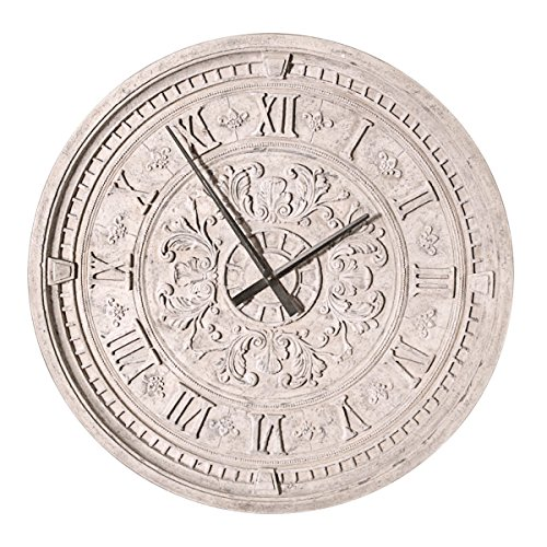 Design Toscano Milano Centrale Grande Train Station Wall Clock (Central Clock Station)