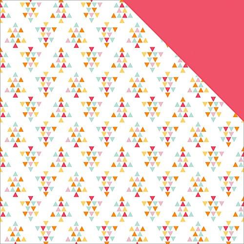 Fancy Pants Summer Sun Double, Sided Cardstock, 25 Sheets, 12