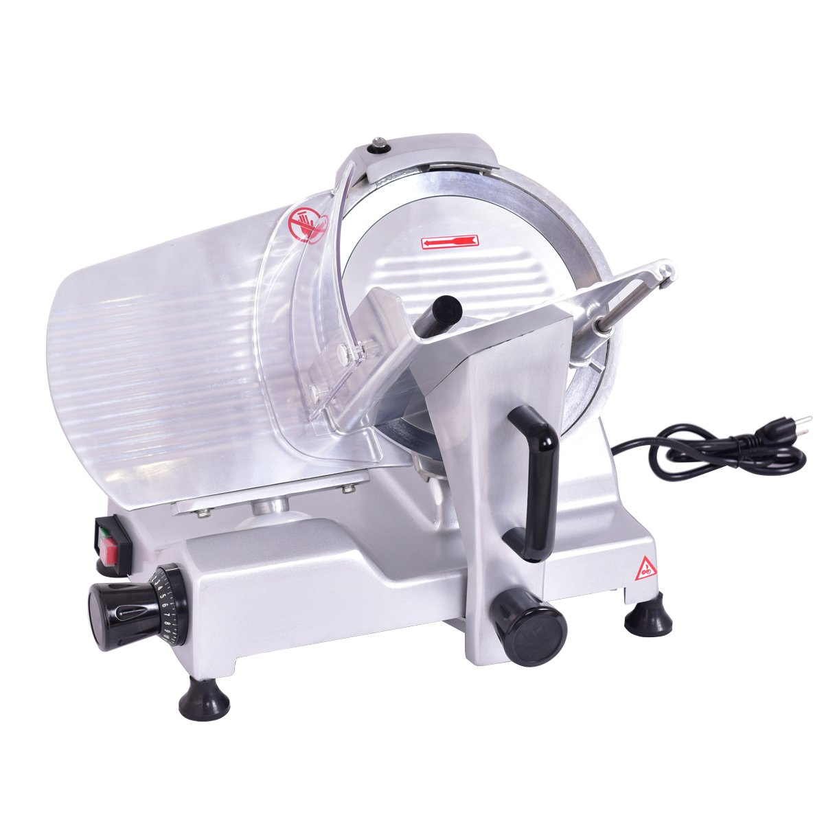 Giantex 10'' Blade Commercial Meat Slicer Deli Meat Cheese Food Slicer Industrial Quality
