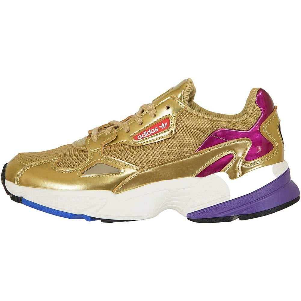competitive price 86aa7 8a805 Adidas Falcon W Gold Gold White 42 Amazon.de Schuhe  Handtas