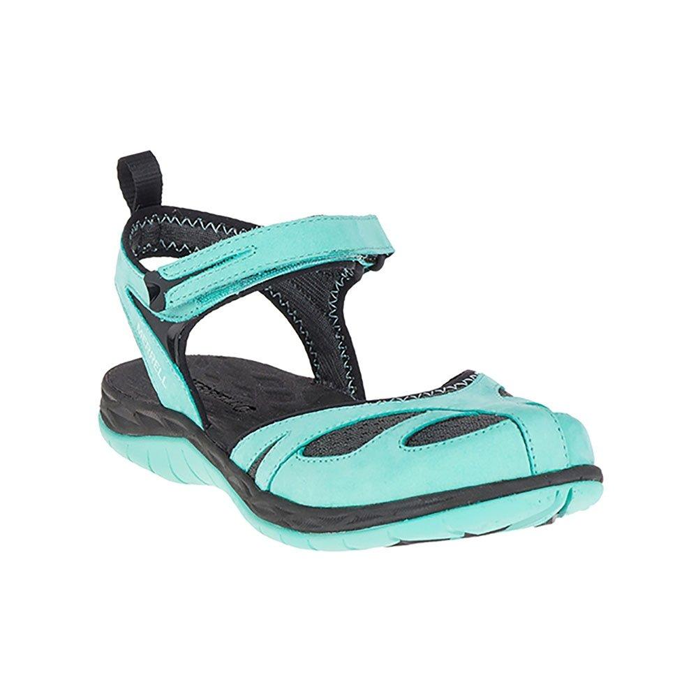 Merrell Women's Siren Wrap Q2 Athletic Sandal B0716Z8VC3 7 B(M) US|Turquoise