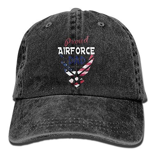 F.Pansy Proud Airforce Dad Mug Vintage Cowboy Baseball Caps Trucker Hats