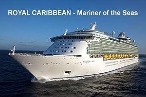 CRUISE SHIP FRIDGE MAGNET - ROYAL CARIBBEAN - MARINER of the SEAS 3½ x 2½ inches Jumbo