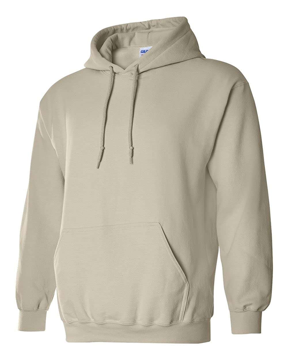 Gildan mens Heavy Blend 8 oz. 50/50 Hood(G185)-SAND-5XL-2PK at Amazon Mens Clothing store: