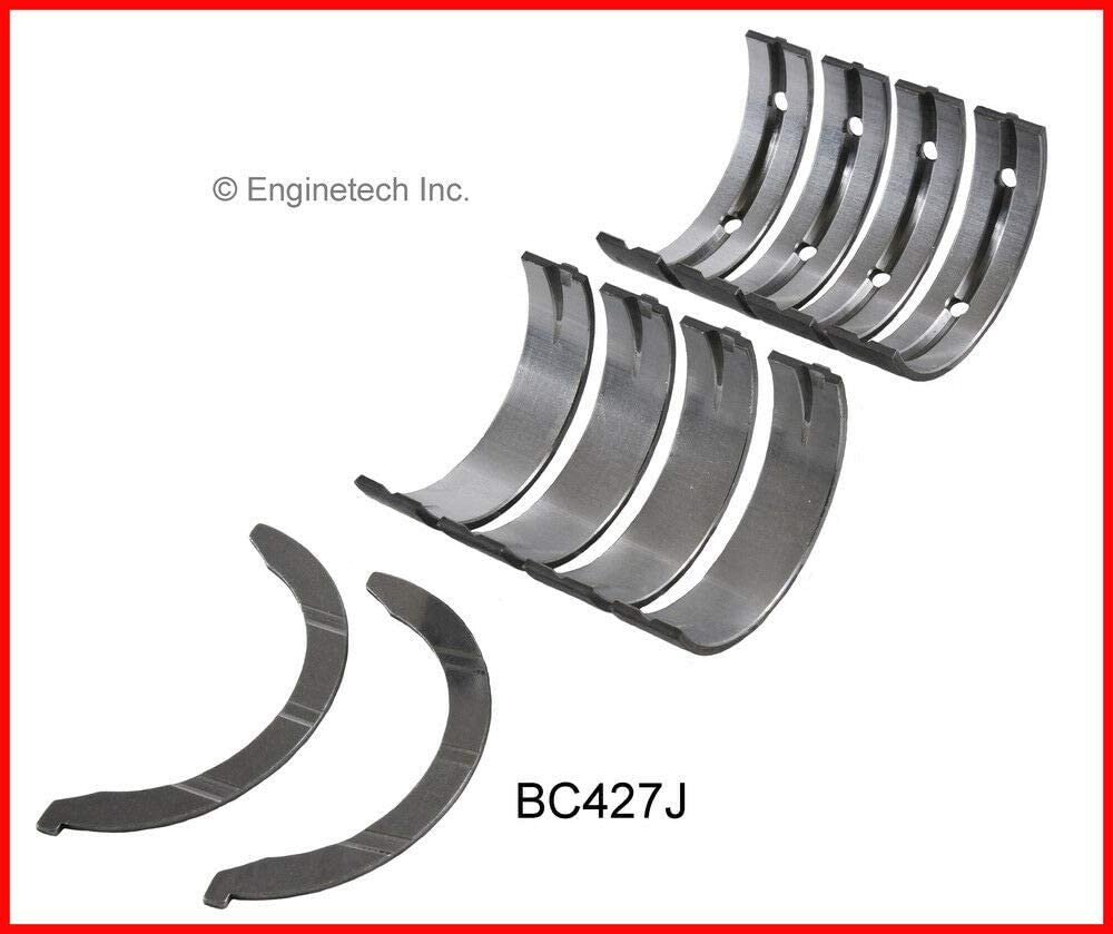 Enginetech BC427J.75 Main Bearings Chrysler 2.7L 167 INCLUDES THRUST WASHERS