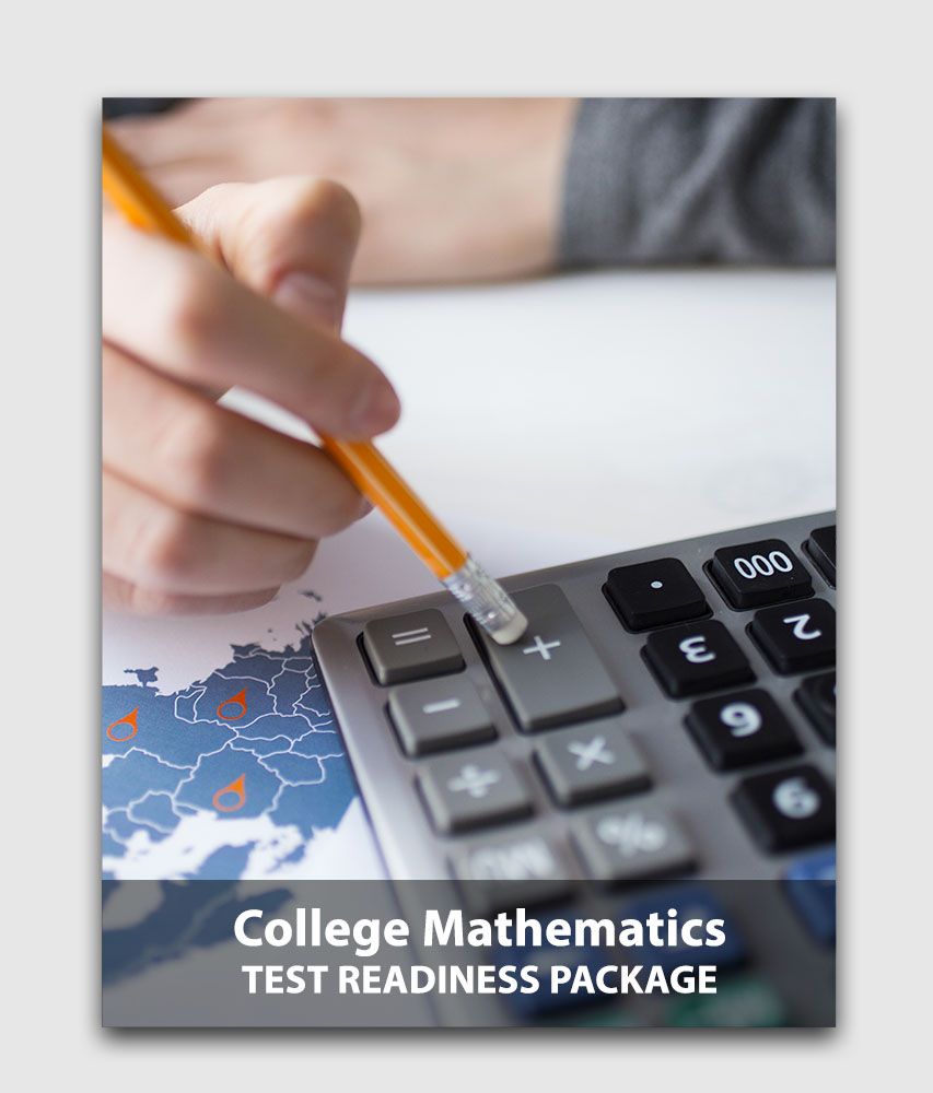 CLEP Mathematics (Sanity Check) - Test readiness package (Online test) [Online Code]