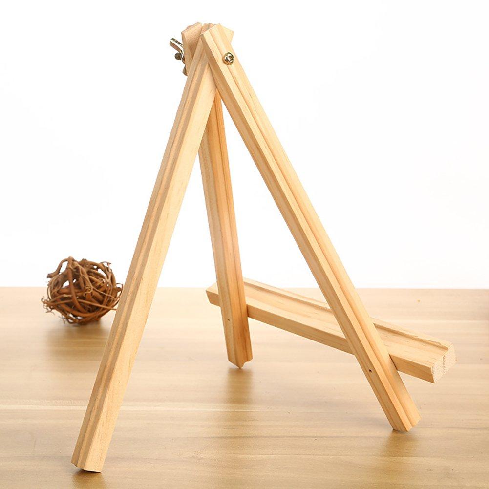 Amazon.com: JINMURY 9.5\'\' Natural Wood Tripod Display Easel Wooden ...