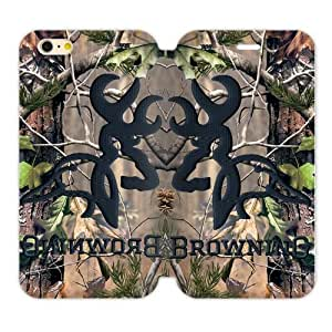 Tree Camouflage Camo Browning Custom Cover Case for iPhone6 4.7
