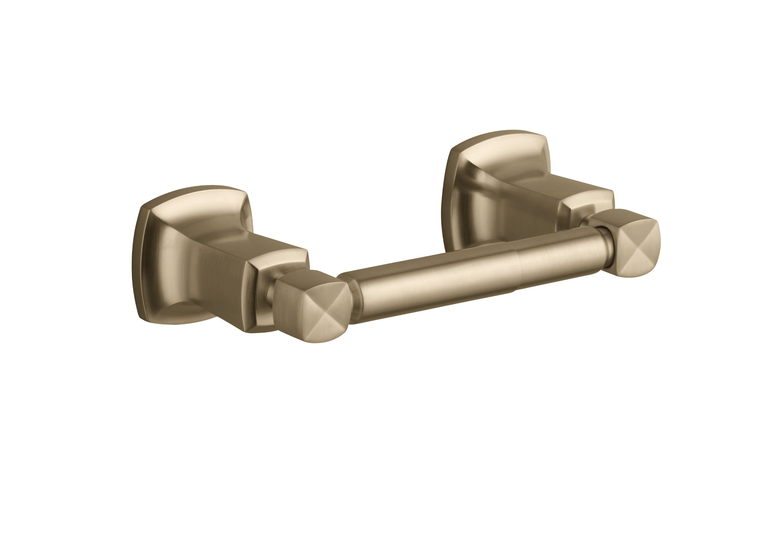Kohler K-16265-BV Margaux Horizontal Toilet Tissue Holder, Vibrant Brushed Bronze
