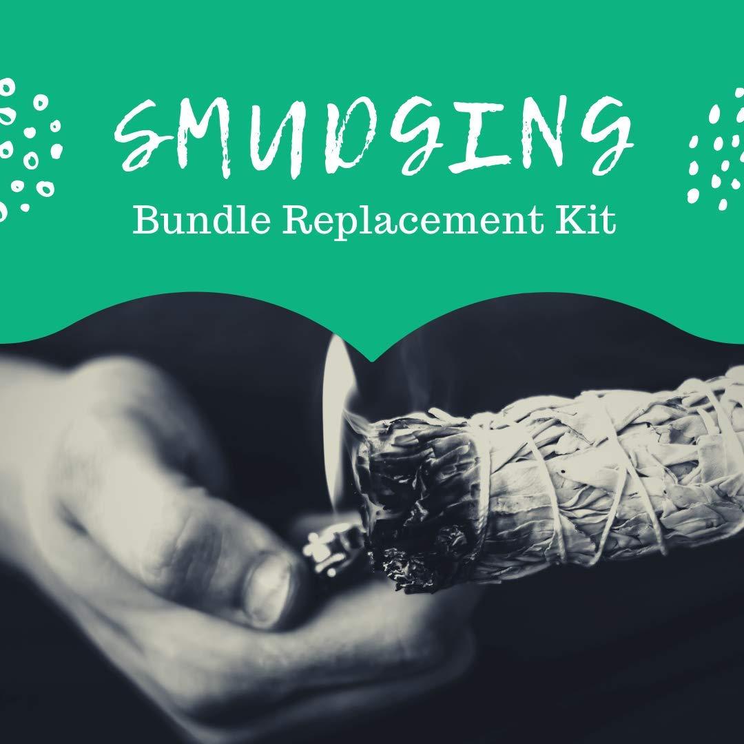 Sage Smudge Stick Set Premium Spiritual California White Sage Bundles, 3 - 4'' Smudging Sticks with Natural Storage Bag, BONUS Chakra Stones Diffuser Bracelet (Unisex) & Positive Vibes Charitable by Worldly Finds (Image #5)