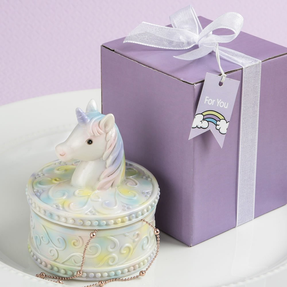 72 Delightful Unicorn Design Jewelry Gift Boxes by Fashioncraft (Image #1)
