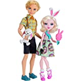 Ever After High Carnival Date Doll - Bunny Blanc and Alistair Wonderland by Mattel