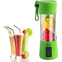 Portable Rechargeable Electric Blender 380ml Juicer Cup - GTIMES Juice Blender and Mixer with USB Charger