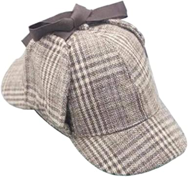 Unisex Sherlock Holmes Detective Sombrero Gorro De Cazador Hat ...