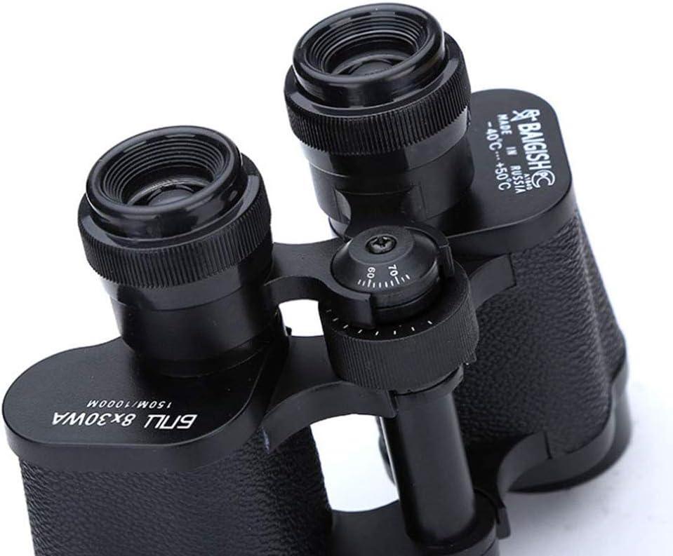 SummarLee 8x30 Binoculars Outdoor High-Power Portable Low-Light Night Vision Telescope High-Definition Waterproof Binoculars