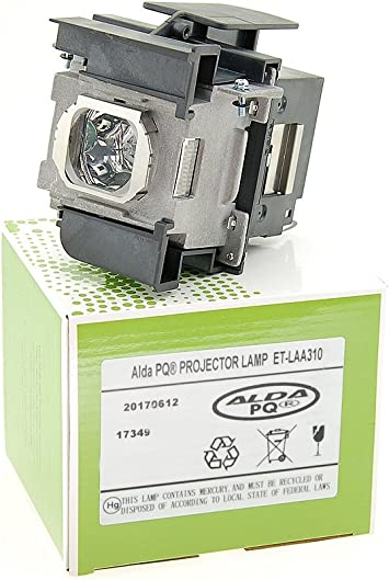 Alda PQ-Premium, Lámpara de proyector Compatible con ET-LAA310 ...