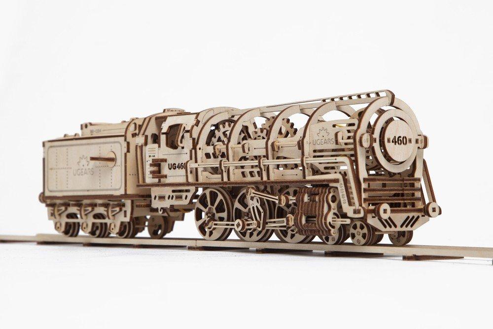 機関車モデル 自分で組み立てて 日本正規販売、ゴム動力で動く3Dパズル 機関車モデル Ugears インテリアにも最適 B01LXI5LK6 日本正規販売 B01LXI5LK6, モジク:28cefe8f --- m2cweb.com