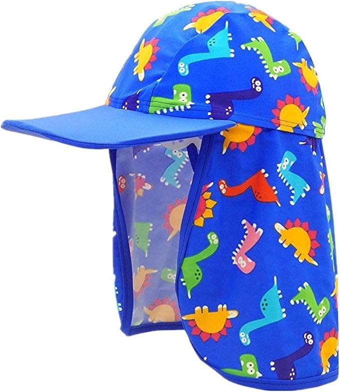 Niños Gorro de Baño Sombrero de Playa Niñas Gorro de Sol Infant ...