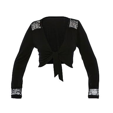 Kookai - Boléro Frileuse - Femme - Noir - 46 48  Amazon.fr  Vêtements et  accessoires d84224e552c