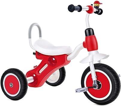 WJSW Triciclo para niños Pedal de 2~8 años Bicicleta de Interior ...