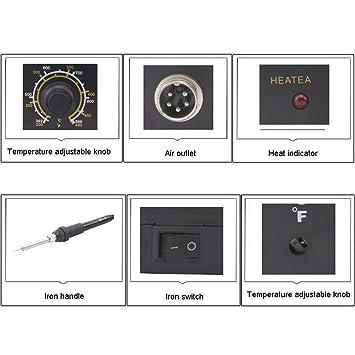 herramientas manuales, Mejor bst-936b + AC 220V estacion de soldadura termostático anti - static plancha eléctrica, enchufe de la UE (SKU : S-ETP-0284B): ...
