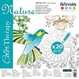 Artemio Collection Color Therapy Nature Scrapbooking Sheet to Color, Multi-Colour by Artemio